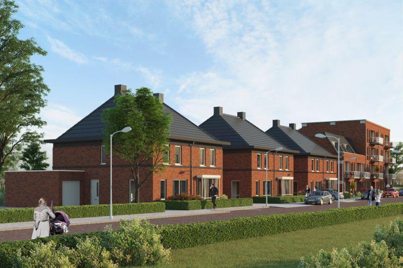 6 Woningen Stratingplantsoen te Velsen-Noord