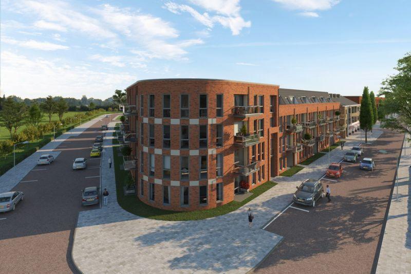 39 Appartementen Stratingplantsoen te Velsen-Noord