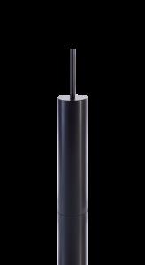 0521460 Decor Walther MK SBG MIKADO toiletborstelgarnituur Mat Zwart
