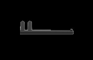 0520260 Decor Walther MK TPH1 MIKADO toiletrolhouder Mat Zwart